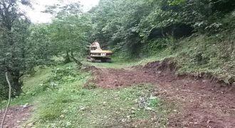 Kalkandere Yokuşlu Köyü Yeni Yol Çalışmaları