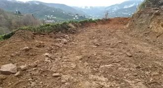 Kalkandere Yokuşlu Köyü Yeni Yol Çalışması
