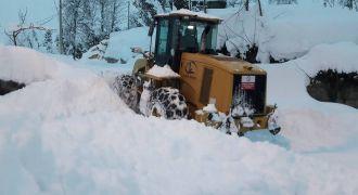 Kalkandere Yolbaşı Köyü Kar Temizleme