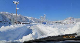 Kalkandere Yöremizden Kış Manzaraları