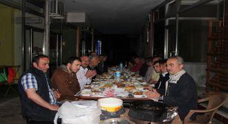 Kalkandere'de Geleneksel İftar Yemeği