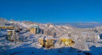 Kalkandere'de Kar Yağışı