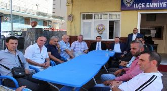 Kalkandere'de Kurban Bayramı Ziyaretleri