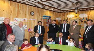 Kalkandere'de Minik Öğrencilere Ziyaret