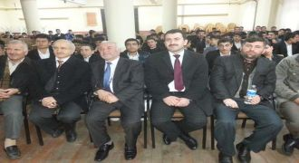 Kalkandere'de Sağlıklı Yaşam Konulu konferans