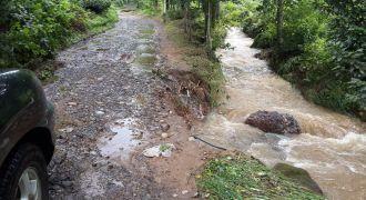 Kalkandere'de Şiddetli Yağış Hasara Yol Açtı