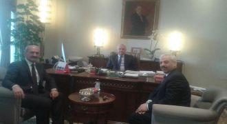 Kalkanderelilerden Cumhurbaşkanlığı Genel Sekreterine Ziyaret