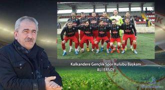 Kalkanderespor Kulüp Başkanı Konuştu