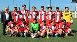 Kalkanderespor U 17 Maçları Başladı