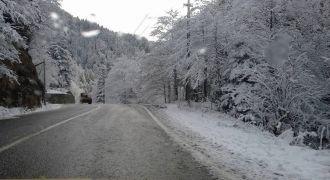 Kalkandere Kar Yağışı Okulları Tatil Etti