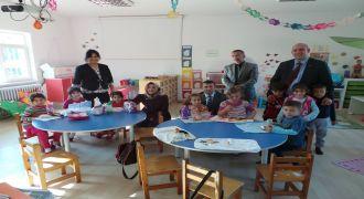 Kalkandere Kaymakamı Ormanlı  Okulu Ziyareti