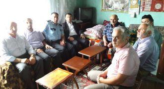 Kaymakam'dan Şehit Ailesine Taziye Ziyareti