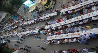Kendirli Belediyesi Geleneksel iftar yemeği