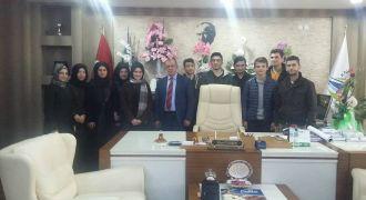 Öğrencilerden Kalkandere Belediyesi Ziyareti
