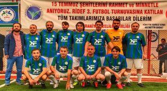 RİDEF Futbol Turnuvası Başladı
