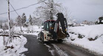 RİZE Belediyesi'nin Karla Mücadelesi