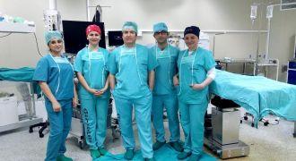 Rize RTEÜ Tip Fakültesinde Ameliyat