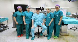 Rize RTEÜ'de İlk Kez Uygulanan Ameliyet