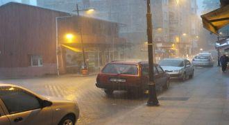 Rize ve Bölge İçin Fırtına Uyarısı
