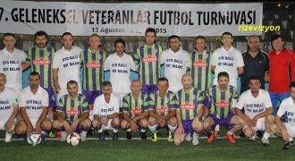 Rize Veteranlar Futbol Turnuvası Başladı