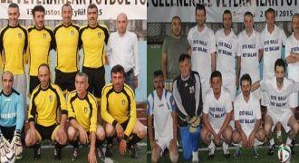 Rize Veteranlar Futbol Turnuvasında Final
