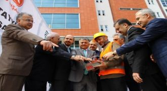 Rize'de Fakülte Binasının Temeli Atıldı
