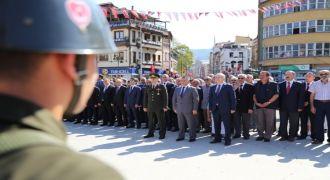 Rize'de Gaziler Günü Anma Töreni