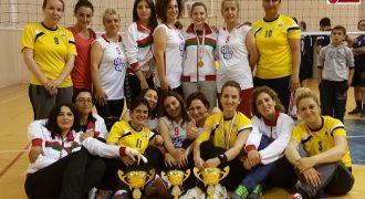 Rize'de Bayanlar Voleybol Turnuvası
