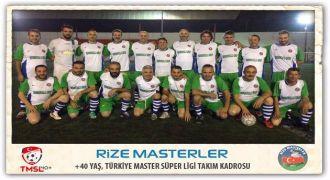 Rizeli Masterler Türkiye Süper Ligine Hazır