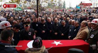 Rizeli Şehit, Binlerce Kişi Tarafından Uğurlandı