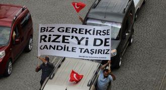 Rizelilerden PKK'ya Veryansın