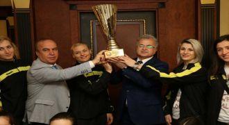 Rize'nin Sultanları Başkan Kasap'a Ziyaret