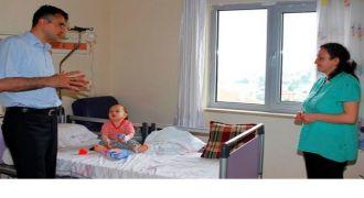 Rize'ye Getirilen 11 Aylık Bebek Kurtarıldı