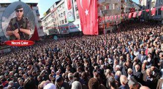 Şehit  Polis Of'ta son yolculuğuna uğurlandı