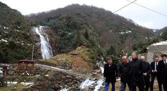Vali Bektaş:Ağaran Şelalesi Turizm Merkezi
