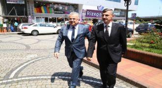 Vali Bektaş'tan Başkan Kasap'a Ziyaret