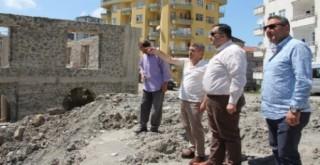 Rize'nin Yeni Orta Camisi Bu Alanda Yükseliyor