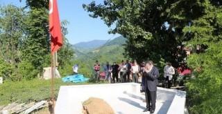 Vali Bektaş Rizeli Şehidin Mezarını Ziyaret Etti.