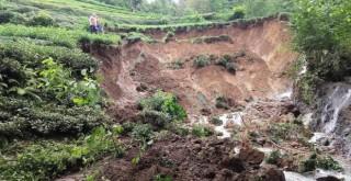 Kalkandere''de Etkili Olan Yağışlar Büyük Hasar