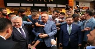 CUMHURBAŞKANI ERDOĞAN'IN RİZE TEMASLARI..