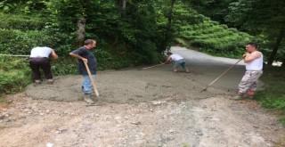 Kalkandere Taşçılar Mahallesi Betonlama