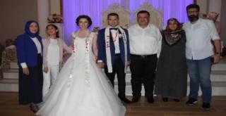 Rize'de Siyaset, Eğitim ve İş Dünyası Buluşturan Düğün Töreni.