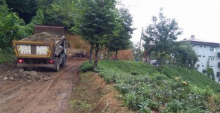 Kalkandere Yokuşlu Köyü Yeni Yol Bakım Çalışmaları