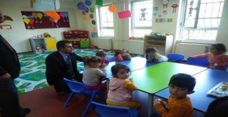 Kalkandere Kaymakamı Ana Okulu Ziyareti