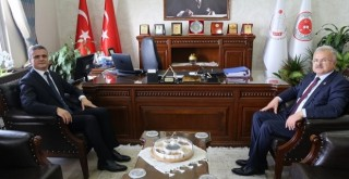 Kasap,Rize Başsavcısı Önder Kemal Sekücü'yü Ziyaret Etti