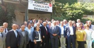 Hayati YAZICI Ankara Rizeliler Derneğine Ziyaret