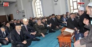 Rize'de Şehit Polisler İçin Mevlidi Şerif Okutuldu