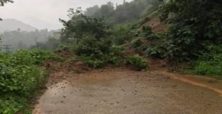 Kalkandere'de Şiddetli Yağmur