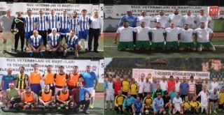 Rize 9. Veteranlar Futbol Turnuvası Başlıyor