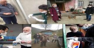 Kalkandere Vefa destek Grubu hizmetleri devam ediyor
